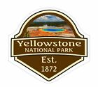 Yellowstone National Park Sticker Decal R1115 You Choose Size