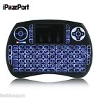 iPazzPort 2.4GHz Mini Wireless QWERTY keyboard with Backlight Touchpad 7 Version