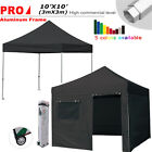 Aluminum Ez Pop Up Canopy Outdoor Tent 10x10 Commercial P...