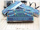 Personalised Boys Stars Happy Birthday Party KitKat Chocolate Wrappers N24