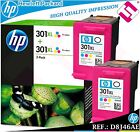 PACK TINTA TRICOLOR 301XL ORIGINAL IMPRESORAS HP CARTUCHO COLOR HEWLETT PACKARD segunda mano  Embacar hacia Mexico