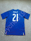 Andrea Pirlo Italy National Team #21 Blue Jersey S-XL NWT