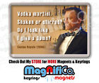 Daniel Craig Fridge Magnet or Keyring - James Bond inspired 007 / Vodka Martini $3.34 USD on eBay