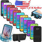For Samsung Galaxy S6 S5 S4 Durable Waterproof Shockproof Dirt Proof Case Cover