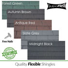 Roofing Felt Shingles | Shed Roof Felt Tiles | Square Butt | 4 Tab