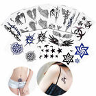 Temporary Small Fake Tattoo Sticker Totem Wing Pattern Decal Lady Chest Body Art $0.99 USD on eBay