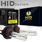 HIDSystem XENON 35W SLIM HID KIT 6K 6000K Diamond White H4 H7 H11 H13 9006
