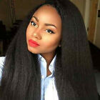 Peruvian Kinky Straight 360 Lace Virgin Hair Frontal With Wig Cap Bleached Knot