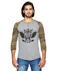 Free Your Soul New Men's Eco-Jersey 3/4-Sleeve