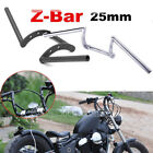 "US 1"" Inch Drag Z-Bars Handlebars Fit Harley Sportster XL 883 1200 Dyna Softail $45.44 USD"