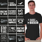 Dad Shirt Perfect Gift for Fathers Day Best Dad Ever Daddy T Shirt - Black