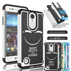 For LG Aristo / LV3 / LG K8 2017 Phone Case Shockproof Hybrid Rugged Hard Cover