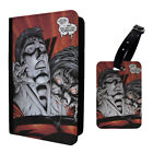 Dracula Superman Printed Luggage Tag & Passport Holder - T2721