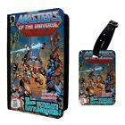He Man Masters Of The Universe Luggage Tag & Passport Holder - T979
