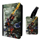 Transformers Optimus Prime Printed Luggage Tag & Passport Holder - T2789