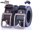 Men Genuine Leather High Quality Casual Suiting Business Pin Buckle Belt