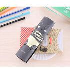 NEW Travel Roll Pen Bag Totoro Anime Pencil Case Makeup Kid Gift Fashion Style