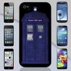 New Doctor Who TARDIS Police Public Call Box iPhone & Galaxy Case Cover