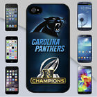 Carolina Panthers NFL 2016 NFC Champions Cover Case for iPhone & Galaxy