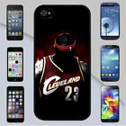 Cleveland Cavaliers Lebron James 23 Dark Jersey for iPhone & Galaxy Case Cover