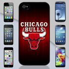 New Chicago Bulls NBA Court Floor Apple iPhone & Samsung Galaxy Case Cover
