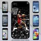 Michael Jordan Kiss The Rim Chicago Bulls Art iPhone & Galaxy Case Cover