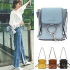 Faux Leather Convertible Small Mini Backpack Crossbody Shoulder bag Purse Cute