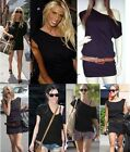 CELEBRITY OFF THE SHOULDER SLOUCHY TOP DRESS SIZE 6 8 10 12 14 16 18