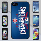 Chicago Cubs 2016 National League MLB Champions for iPhone & Galaxy Case Cover
