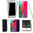 360° Silicone gel shockproof case cover for most mobiles -design ref zq033 clear