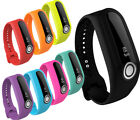 Soft Silicone Rubber Band Strap Wristband Bracelet For TomTom Touch Tracker FV