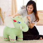 80cm Giant Plush Thai Lucky Elephant Toy Stuffed Colorful Soft Big Animal Doll