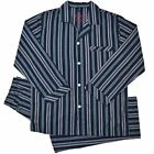 Mens Sleepwear Pajamas Long Sleeve Top & Pants PJ 2pc Set Size S-2XL RRP $49.95