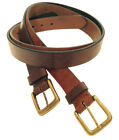 """""""Fulton"""" 100% Argentine Leather Polo Belt - The Best Quality"""