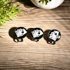 3PCS Fashion Golf Ball Marker Hat Clips Various Shaped Hat Clips