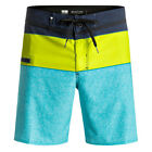 QUIKSILVER NEW Mens Everyday Blocked Vee Board Shorts Viridian Green BNWT