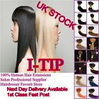 "Pre Bonded Stick I Tip 100% Real Natural Human Hair Extensions 18"" 20"" 22"" 24"""