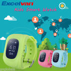 Kids Children SmartWatch GPS Safety Tracker SOS Phone Call Anti-Lost Android IOS