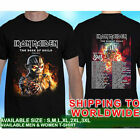 Iron Maiden The Book Of Souls American Tour Dates #017 T-Shirt Tees Size S-5XL
