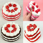 11CM Jumbo Squishy Strawberry Cake Scented Super Slow Rising Kids Toy Cute