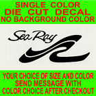Sea Ray Boats Die Cut Vinyl Decal Truck Window Boat Cooler Tackle Box Sticker