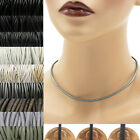 Black+ Leather Cord Necklace Custom Handmade choker to 36 inches 16 22 24 30 18+