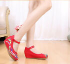 Gorgeous phoenix Embroidery Dancer Wedge Beijing shoes for cheongsam Comfortable