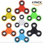 4-Pack Tri Fidget Spinner Hand Spin Finger Spin Stress Desk Toy EDC ADHD ADD New