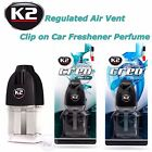 K2 CREO Air Freshener Clip on Vent Regulated Perfume New Car Ocean 8ml Fragrance