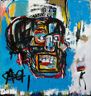 "32W""x34H"" UNTITLED 1982 HEAD by JEAN-MICHEL BASQUIAT Giclee - CHOICES of CANVAS"