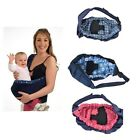 TC Cotton Baby Carrier Sling Wrap Pouch Newborn Infant Breastfeeding Papoose Bag