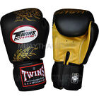 Twins Muay Thai Boxing Fancy Gloves Leather Kick Boxing MMA G1 Genuine Leather
