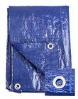 RK Safety General Purpose Blue Poly Tarp, (50x100)ft and (100x100)ft Poly Tarp