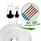 Lot Micro USB Charger Cable 3 FT CELL PHONE DATA SYNC CORD For Apple iPhone 765